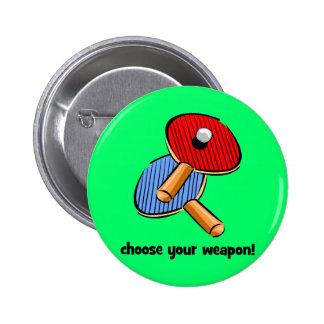 lustiges Klingeln pong Runder Button 5,7 Cm
