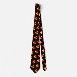 Lustiges Kürbis-Büro-Arbeits-Kostüm Halloweens Krawatte
