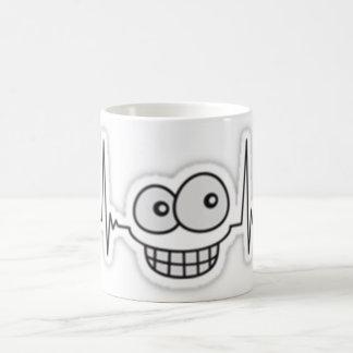 lustiges Lächeln Kaffeetasse