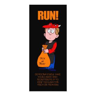 Lustiges Lesezeichen Anti-Obama Halloween 10,2 X 23,5 Cm Einladungskarte