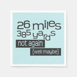 Lustiges Marathon 26 Meilen 385 Yards © - Läufer Serviette