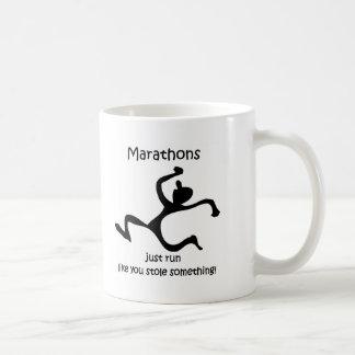 Lustiges Marathon Tee Haferl