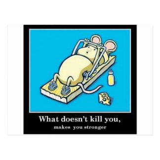 Lustiges Mäuseprodukt Postkarte