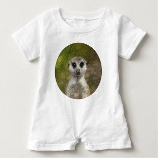 Lustiges Meerkat 002 02.7_. Baby Strampler