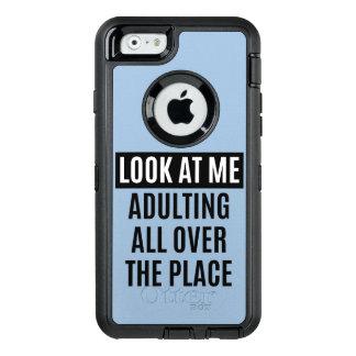 Lustiges meme Adulting überall Zitat OtterBox iPhone 6/6s Hülle