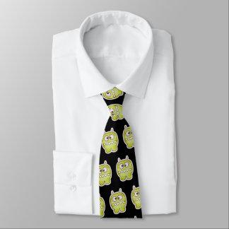 Lustiges Monster-Büro-Arbeits-Kostüm Halloweens Krawatte