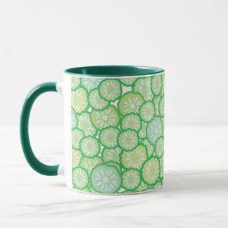 Lustiges Muster der Gurke Tasse
