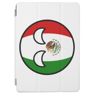 Lustiges neigendes Geeky Mexiko Countryball iPad Air Hülle