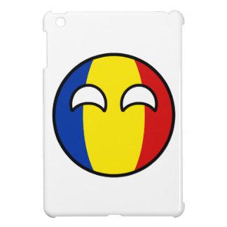 Lustiges neigendes Geeky Rumänien Countryball iPad Mini Hülle
