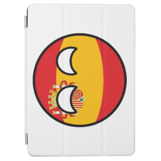 Lustiges neigendes Geeky Spanien Countryball iPad Air Hülle