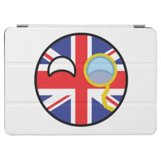 Lustiges neigendes Geeky Vereinigtes Königreich iPad Air Hülle