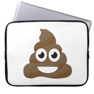 Lustiges niedliches kacken Emoji Laptopschutzhülle