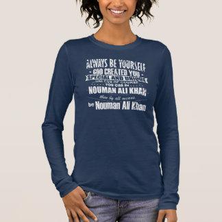 Lustiges Nouman Ali Khan Langarm T-Shirt