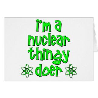 lustiges nukleares karte