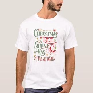 Lustiges oh Weihnachtst-stück ID463 T-Shirt