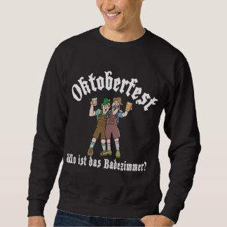 Lustiges Oktoberfest, in dem das Badezimmer ist Sweatshirt