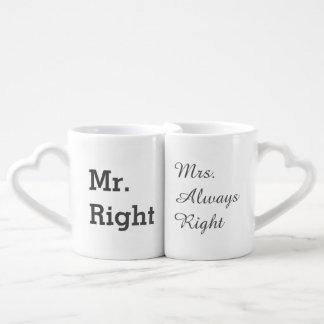 Lustiges Paar-Tassen-Set Paartasse