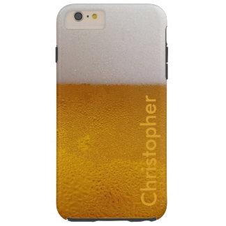 Lustiges personalisiertes kaltes Bier Tough iPhone 6 Plus Hülle