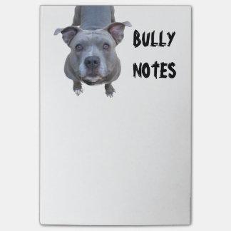 Lustiges Pitbull Post-it Haftnotiz