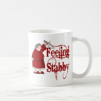 Lustiges PMS Stabby Kaffeetasse