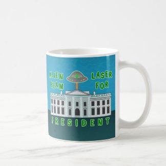 Lustiges politisches alien des Wahl-Spaß-| Kaffeetasse