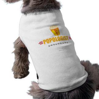 Lustiges Popcorn Hund T-shirt