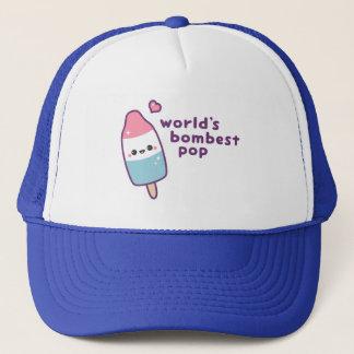 Lustiges popsicle-Wortspiel der Vatertag Truckerkappe