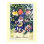 """""""Lustiges Quartett"""" Vintager Deutscher Postkarten"""