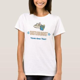 Lustiges Sandcastle-Gebäude T-Shirt