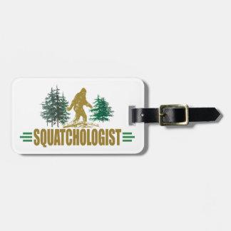 Lustiges Sasquatch, Squatchin, Squatching, Kofferanhänger