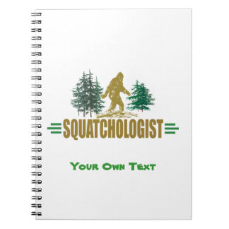 Lustiges Sasquatching, Sasquatch Jäger Notizblock
