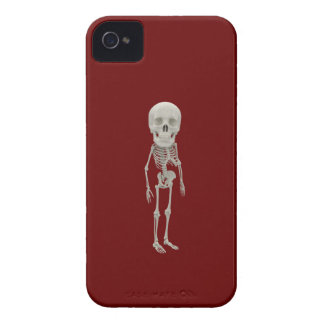 Lustiges Schauen skeleton iPhone 4 Case-Mate Hülle