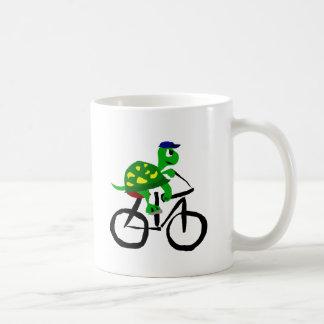 Lustiges Schildkröte-Reitfahrrad Kaffeetasse