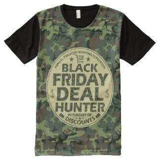 Lustiges schwarzes T-Shirt mit bedruckbarer vorderseite