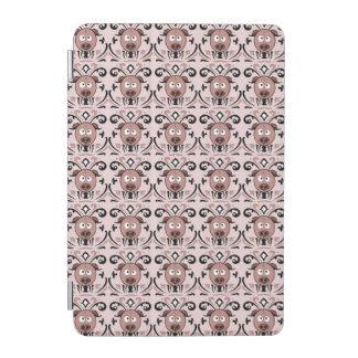 Lustiges Schwein-Damast-Muster iPad Mini Hülle