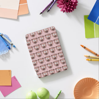 Lustiges Schwein-Muster iPad Mini Cover
