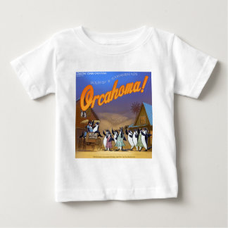 Lustiges Schwertwal-Wal-Theater Baby T-shirt