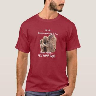 Lustiges Shirt, Buckel-Tageskamel whoot whoot! T-Shirt