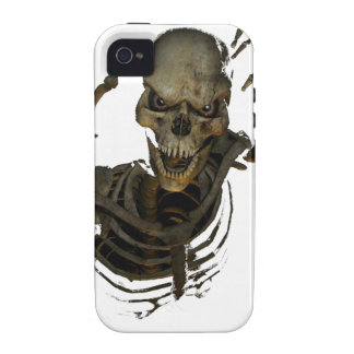 Lustiges Skelett Vibe iPhone 4 Cover