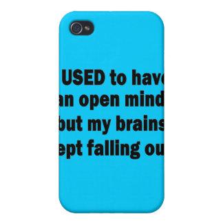 Lustiges Sprichwort - ich pflegte, um einen offene iPhone 4/4S Case