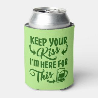 Lustiges St. Patricks Tagesirisches Bier des Dosenkühler