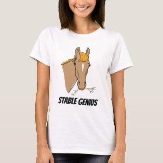 Lustiges stabiles Genie-Pferd Donald Trump T-Shirt