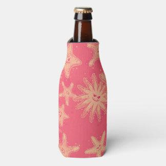 Lustiges Starfish Rougelimonade Muster Flaschenkühler