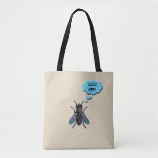 Lustiges Summen weg von der Fliegen-Taschen-Tasche Tasche