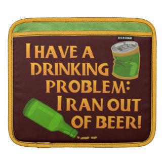 Lustiges trinkendes Bier Sleeve Für iPads