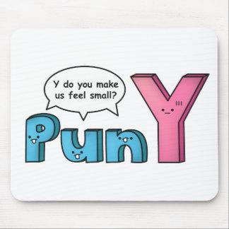 Lustiges unterhaltendes y-Wortspiel zu Mousepad