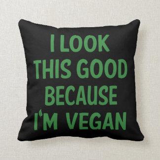 Lustiges veganes, Veganism-Vegetarier, zitieren Kissen
