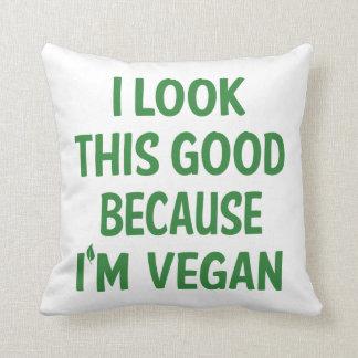 Lustiges veganes, Veganism-vegetarisches Kissen
