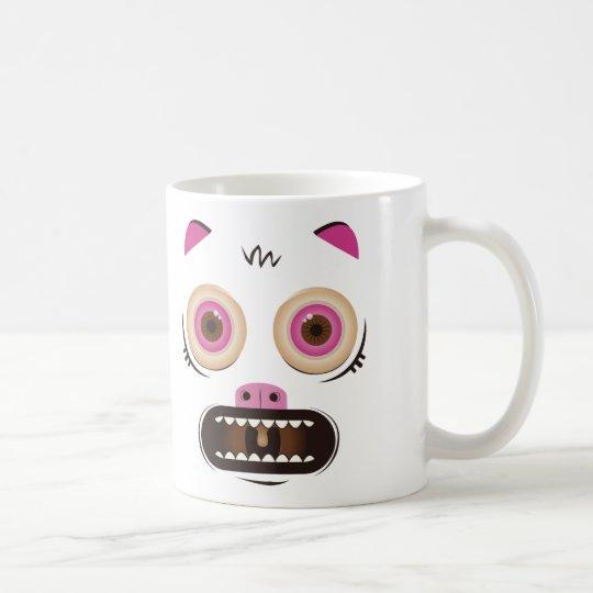 Lustiges verrücktes Monster Tasse
