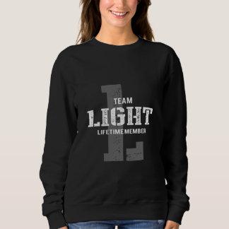 Lustiges Vintages Art-T-Shirt für LICHT Sweatshirt